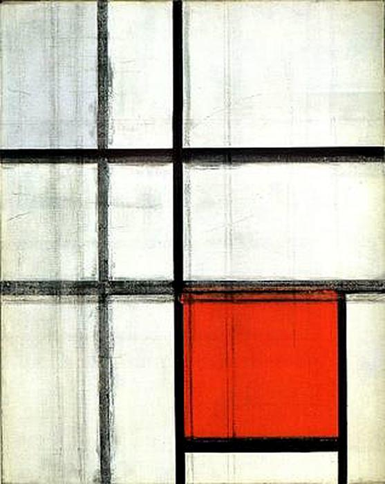 Buy Museum Art Reproductions | Composition. Unfinished by Piet Mondrian (1872-1944, Netherlands) | WahooArt.com