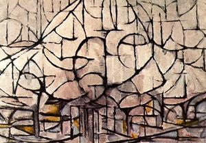 Piet Mondrian - Flowering Trees
