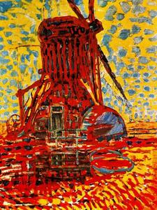 Piet Mondrian - Mill in the sun