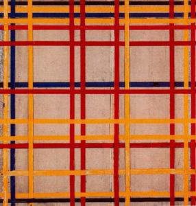 Piet Mondrian - New York City II
