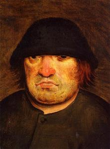 Pieter Bruegel The Younger - Peasant's Head
