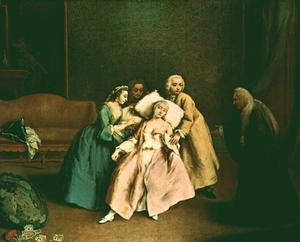 Pietro Longhi - The Faint