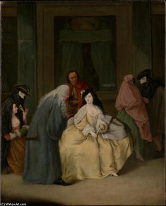 Pietro Longhi - The Meeting