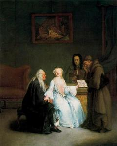Pietro Longhi - The Music Lesson