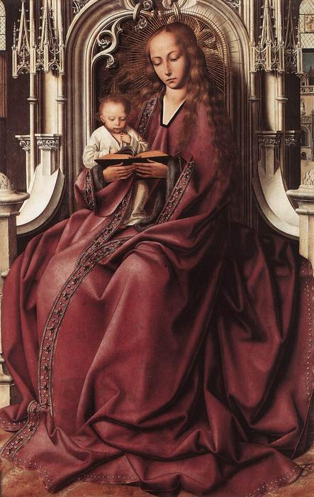 Virgin and Child 1 by Quentin Massys (1466-1530, Belgium)