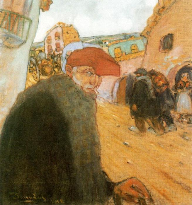 Old catalan by rafael barradas 1890 1929 uruguay for Artiste peintre catalan