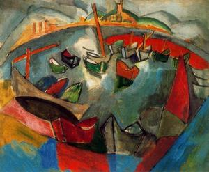 Raoul Dufy - Boats in Marseille