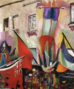 Raoul Dufy - Flags