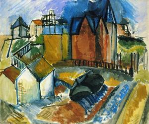 Raoul Dufy - The Beach at Havre