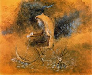 Remedios Varo - Aquatic locomotion