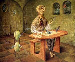 Remedios Varo - Creation of birds