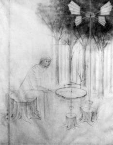 Remedios Varo - Forest music 1