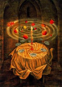 Remedios Varo - Still life rising