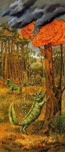 Remedios Varo - The fern cat