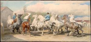 Rosa Bonheur - Return from the Horse Fair