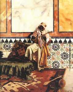 Rudolph Ernst - Gnaoua in a North African Interior