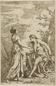 Salvator Rosa - Apollo and the Cumean Sybil