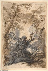 Salvator Rosa - St. Paul, Hermit