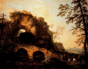 Salvator Rosa - The Bridge