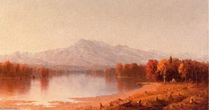 Sanford Robinson Gifford - Moat Mountain, New Hampshire