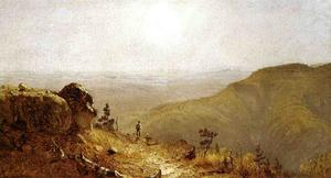Sanford Robinson Gifford - Study for The View from South Mountain, in the Catskills''''