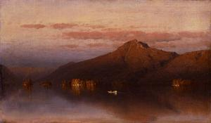 Sanford Robinson Gifford - Whiteface Mountain from Lake Placid