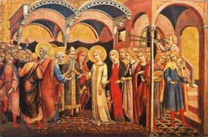 Sano Di Pietro - The Marriage of the Virgin