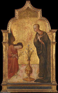 Sassetta (Stefano Di Giovanni) - The Annunciation
