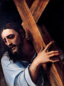 Sebastiano Del Piombo - Christ with the Cross