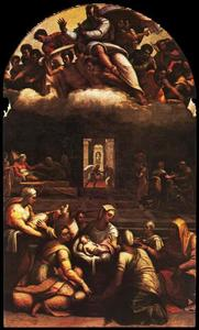 Sebastiano Del Piombo - Nativity of the Virgin