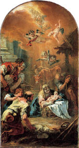 Sebastiano Ricci - Adoration of the Shepherds