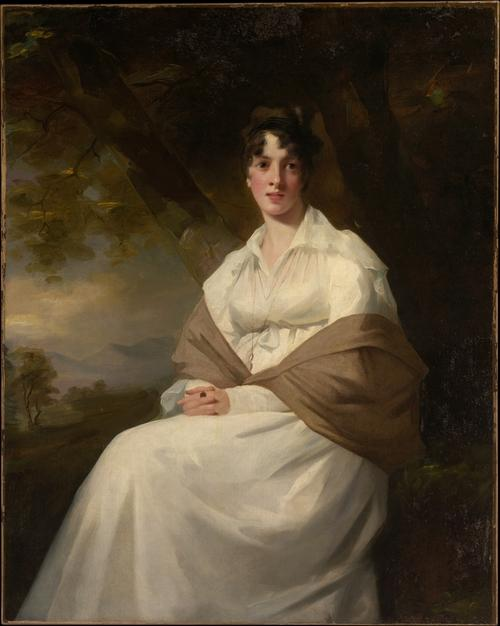 Lady Maitland (Catherine Connor) by Henry Raeburn (1756-1823, United Kingdom) | Famous Paintings Reproductions | WahooArt.com