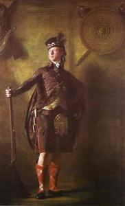 Henry Raeburn Dobson - Portrait of Colonel Alasdair Mcdonnell of Glengarry