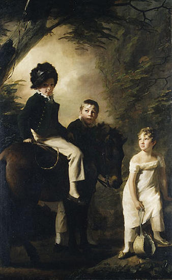 The Drummond Children by Henry Raeburn (1756-1823, United Kingdom) | Painting Copy | WahooArt.com