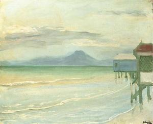 John Lavery - Early Morning, Bay of Tunis
