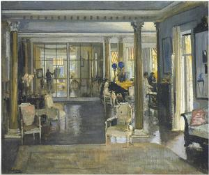 John Lavery - The Drawing Room, Falconwood