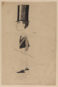 Max Beerbohm - Boy in a high top-hat