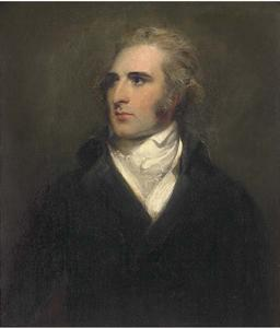 Thomas Lawrence - Portrait of John Philip Kemble