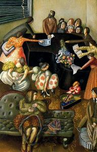 Stanley Spencer - At the Piano