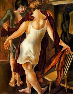 Stanley Spencer - Choosing a Dress