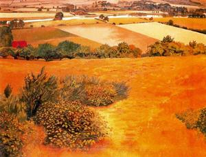 Stanley Spencer - Cockmarsh Hill. Cookham