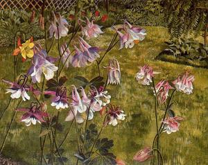 Stanley Spencer - Columbines