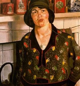 Stanley Spencer - Country girl. Elise