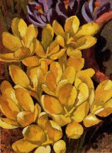 Stanley Spencer - Crocuses