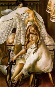 Stanley Spencer - Going to Bed