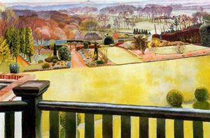 Stanley Spencer - Oxfordshire Landscape