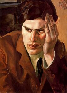 Stanley Spencer - Portrait of Richar Carline
