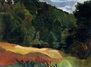 Stanley Spencer - The Quarry Woods, Cookham
