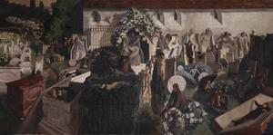 Stanley Spencer - The Resurrection, Cookham