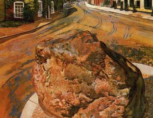 Stanley Spencer - The Tarry Stone. Cookham